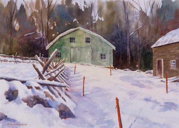 Cianfarini_Dan_Winter_s_Stakes,_Hartwell_Tavern_16x20_watercolor_(1)