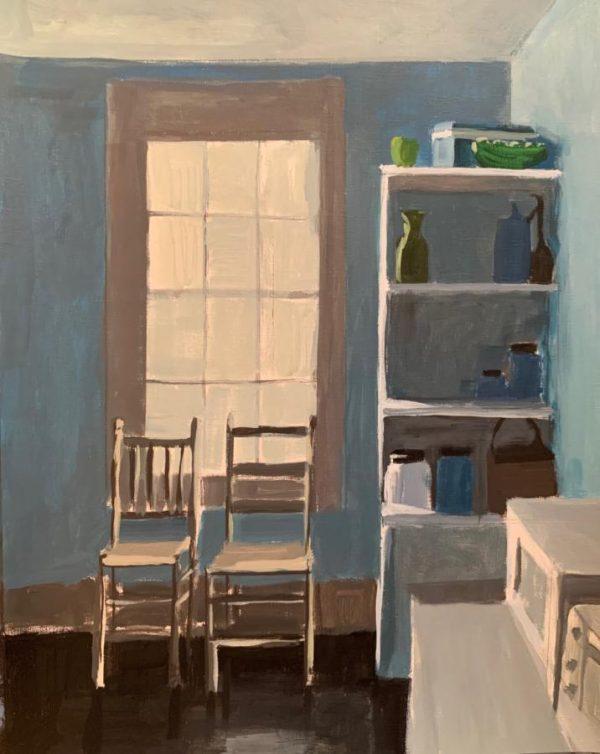 Colella_Nancy_Summer_Kitchen_20x16_acrylic