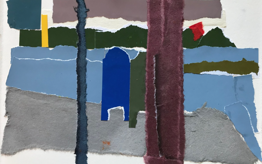 ONLINE: Landscape Collage Into Painting: Clean Color & Sculptural Form JUST ADDED!