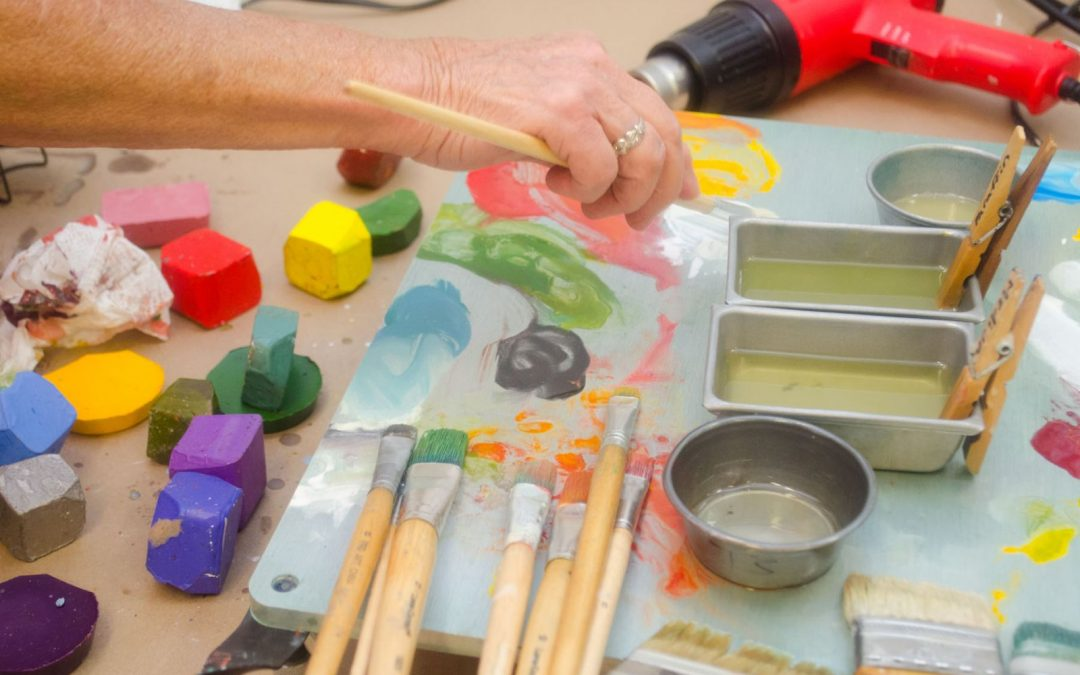 IN PERSON: Encaustics Workshop SOLD OUT (sign up for Oct session!)
