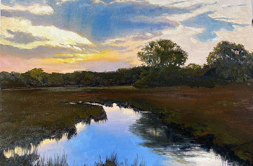 Spread It Like Budd-ah! Oil Painting with Paul George