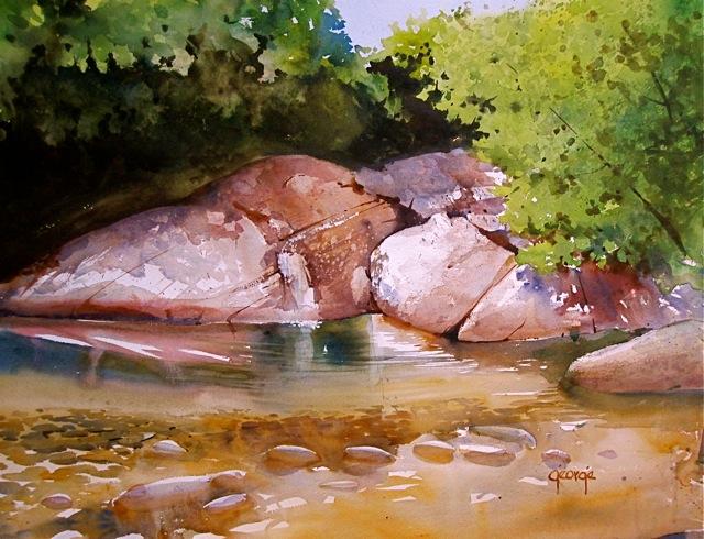 Loosey, Juicy Watercolors with Paul George