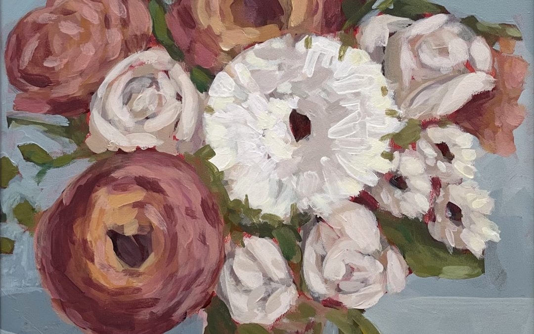 Art Night! Make It & Take It: Acrylic Floral Painting