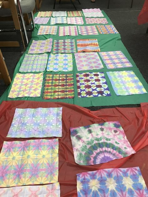 """IN PERSON: ART NIGHT! Make It and Take It $45/pp """"Japanese Paper Dying"""""""