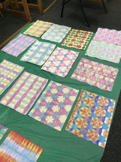 Art Night! Make It & Take It: Japanese Paper Dyeing