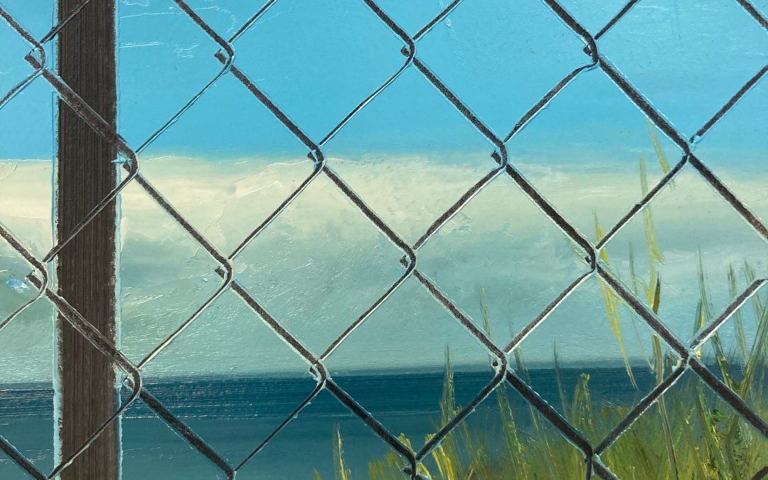 IN PERSON: Blocking the View – Let's Be Up Front About It: Foreground
