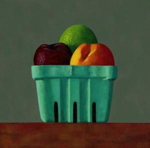 Calleja Donna Fruit Box 8x8 acrylic