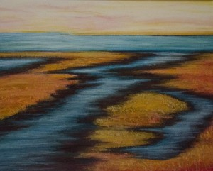 LOLA CHAISSON   Late in the Day Pastel; 16 x 20 inches $650