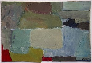 KATHLEEN JACOBS   Untitled II Gouache, paper/collage; 6 x 9 inches $875