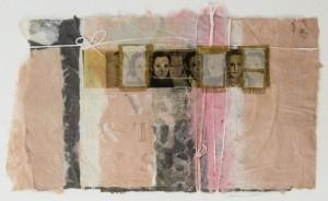 LORRAINE SULLIVAN, The Inevitability of Change, photo transfer mixed media, 12 x 18 inches, $3,000