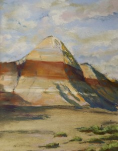 CYNTHIA L. RODDAY, The Painted Desert, No. 1, pastel, 9.5 x 7.5 inches, $150