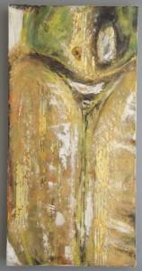 HEIDI JACKSON, Soul of a Beetle, mixed media encaustic; 20 x 10 inches, $675