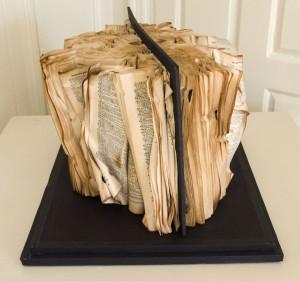 ANNIE ZEYBEKOGLU, Roots Dictionary, Lokta paper; 16 x 20 x 13 inches; $450