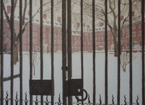 JOHN WOOD. Cold Iron Oil on canvas; 28 x 38 inches; $2,000