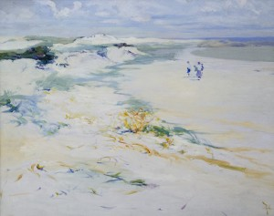 "Elizabeth Wentworth Roberts, ""Figures on the Sand (Annisquam)"""