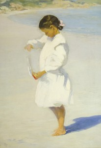 Girl with the Red Sailboat