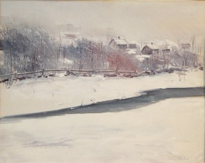 """Roger W. Curtis, """"February Storm"""""""