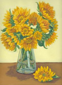 Sunflowers for a friend